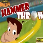 Chota bheem hammer throw